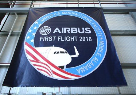 First Airbus Test Flight March 21, 2016