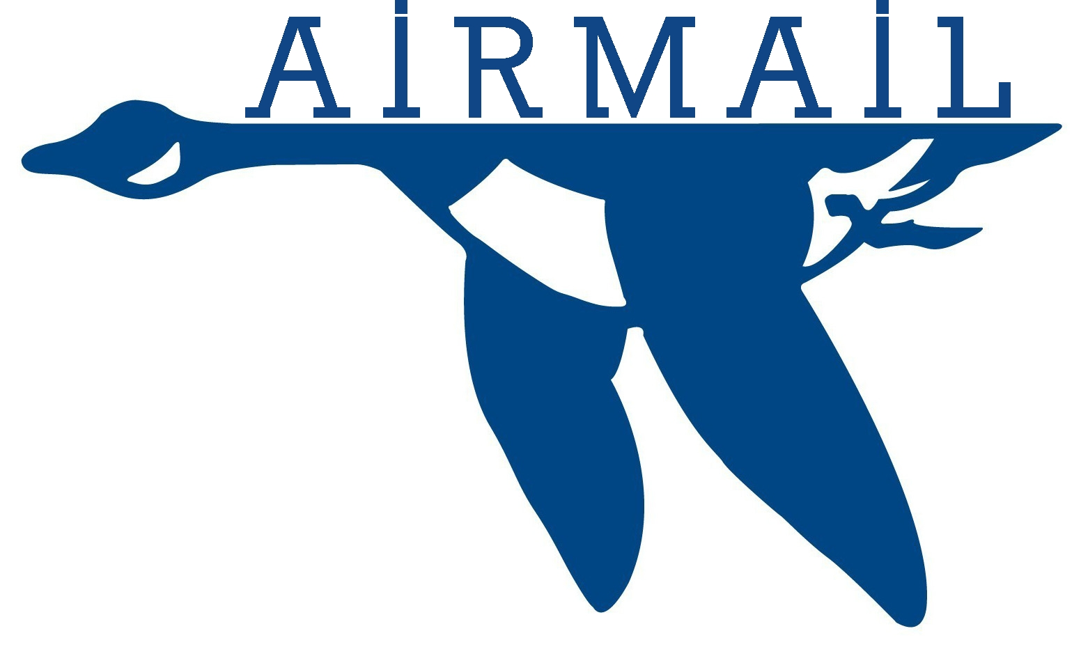 AIRMAIL blue.goose