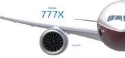 Resultado de imagen para boeing 777x png