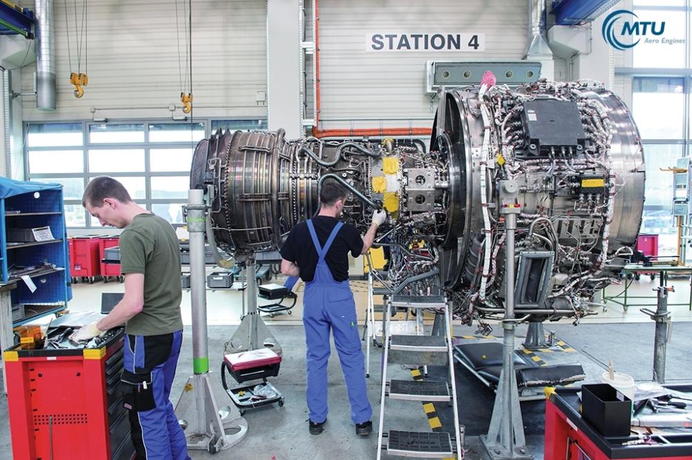 (c) Andy Ridder, MTU Hannover verschiedene Reparaturverfahren