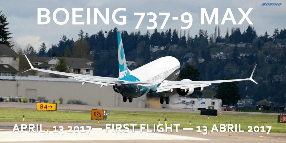 BOEING737-9MAX 1ºFLIGHT
