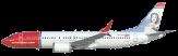 Resultado de imagen para Norwegian Air Argentina Boeing 737 MAX png