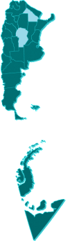 Argentina Mapa COR-CHC