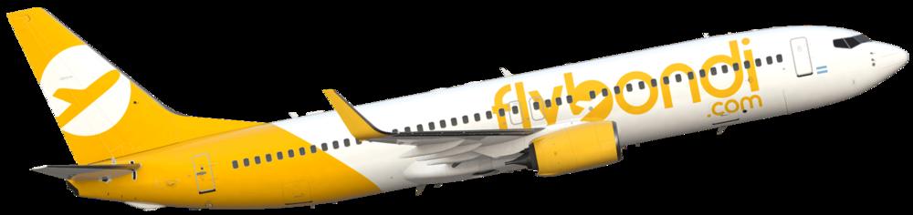 Avion+Boeing+737+Flybondi