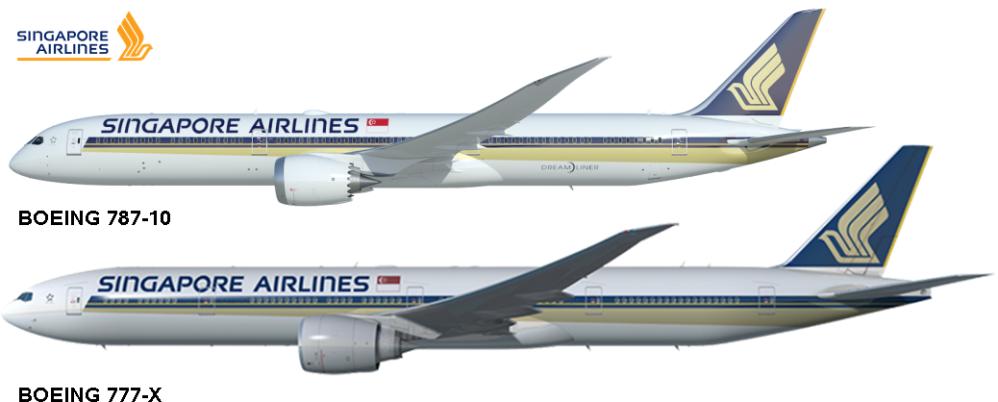 Boeing 787-10 Boeing 777-X