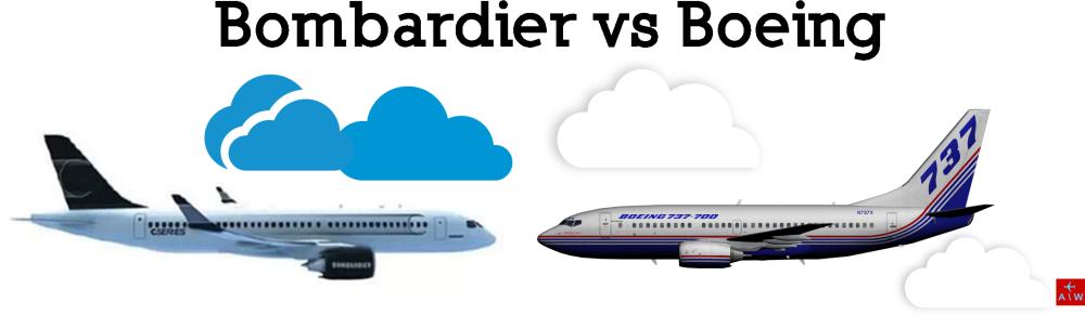 Resultado de imagen para Boeing vs Bombardier