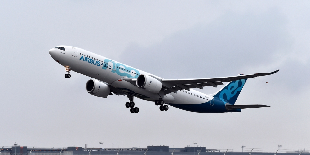 FRANCE-AIRBUS-A330NEO-AVIATION-TRANSPORT