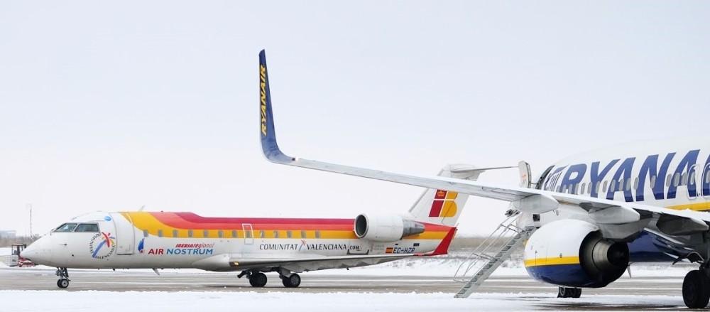 aviones air nostrum ryanair