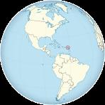 Resultado de imagen para St Kitts globe map png