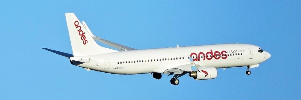 Resultado de imagen para Andesonline Boeing 737-800