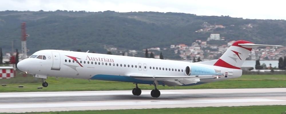 Austrian Airlines despide flota Fokker |