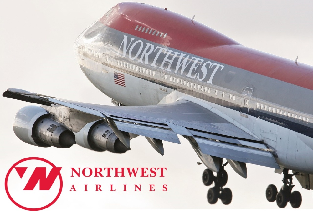 Northwest B747 Takeoof