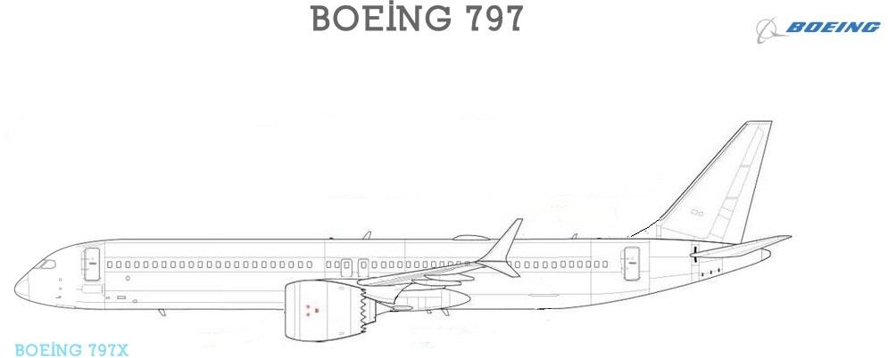 Resultado de imagen para Boeing 797 Airgways