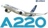 Resultado de imagen para Airbus A220 svg