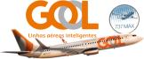 Resultado de imagen para gol linhas aereas Boeing 737 MAX png