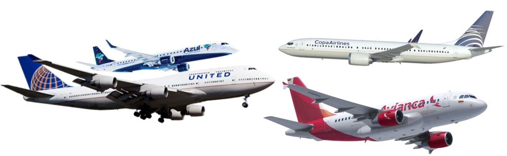 Resultado de imagen para azul united avianca