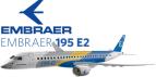 """Resultado de imagen para Embraer E195-E2 Airgways.com"""""""
