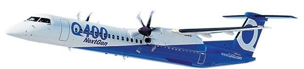Bombardier entrega 1er Q-400 90-PAX |