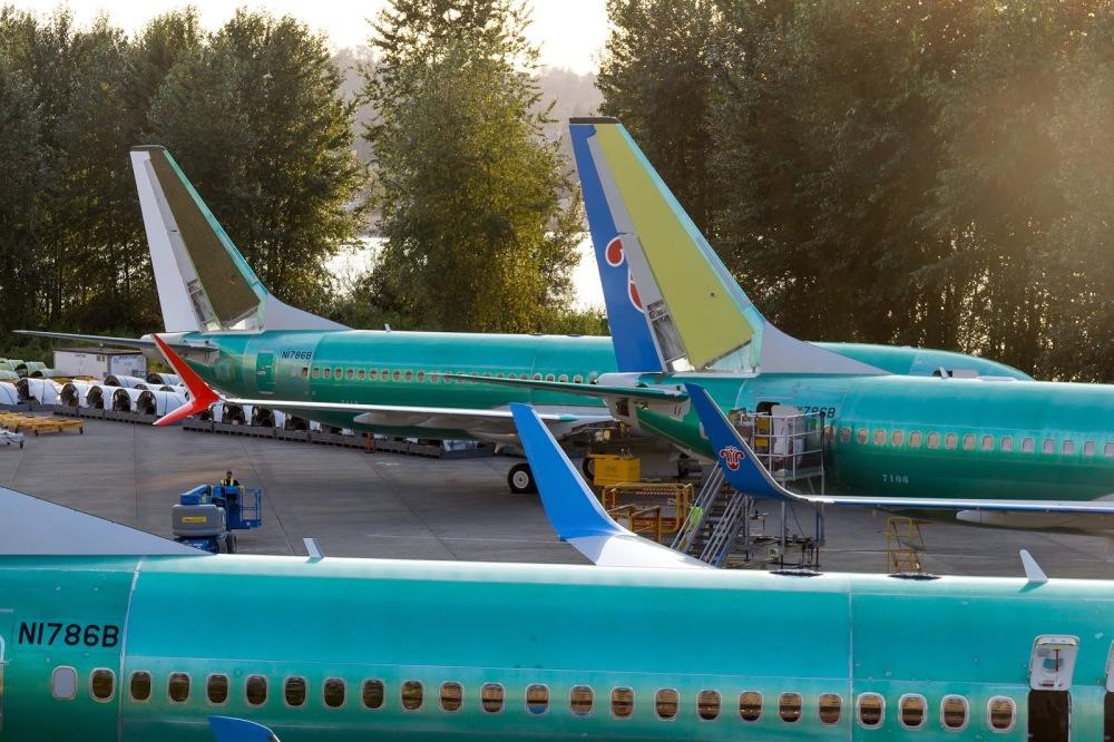 Resultado de imagen para Lion Air Boeing 737 MAX 8 assembly line