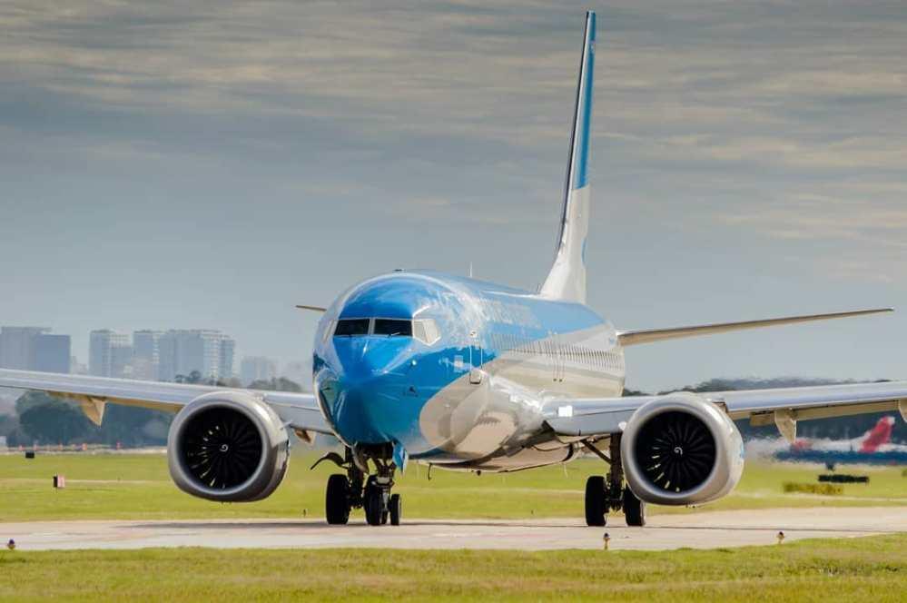 Resultado de imagen para Boeing 737-8 MAX LV-HKU