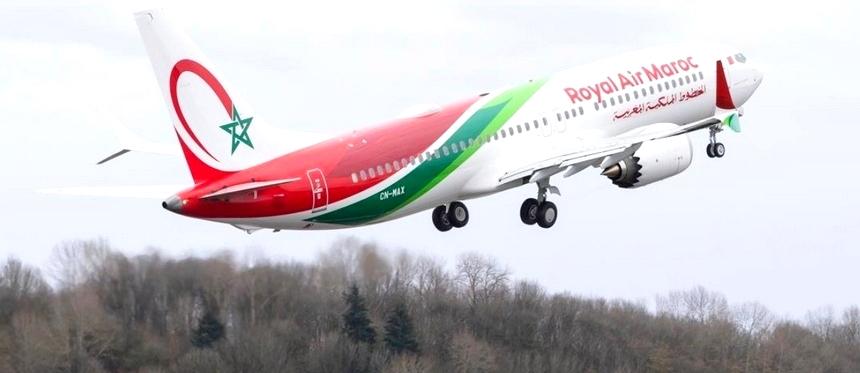 Royal Air Maroc recibe 1er 737 MAX |