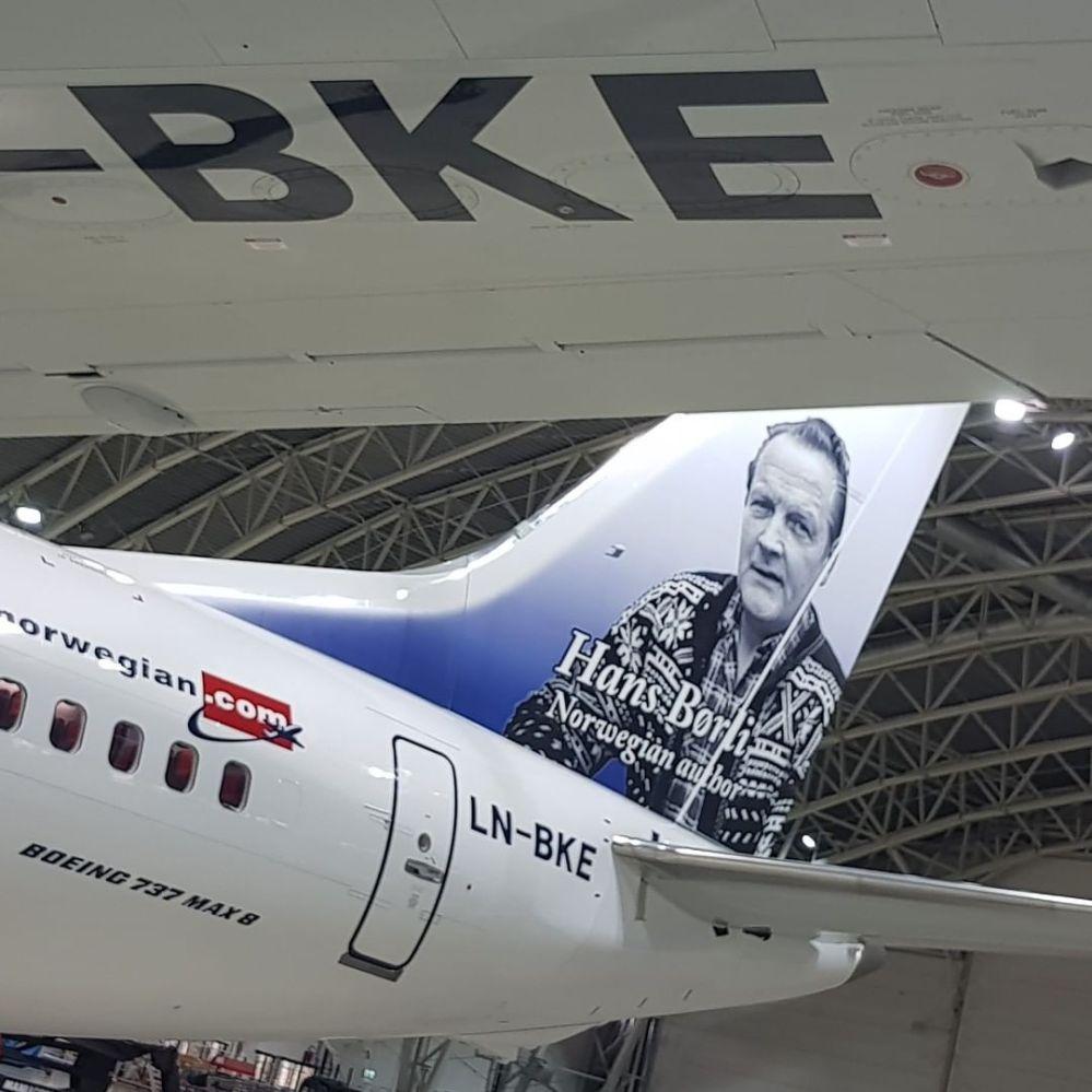 Resultado de imagen para Boeing 737-8 MAX Norwegian LN-BKE