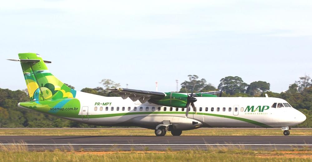 Resultado de imagen para ATR 42 MAP linhas aéreas png