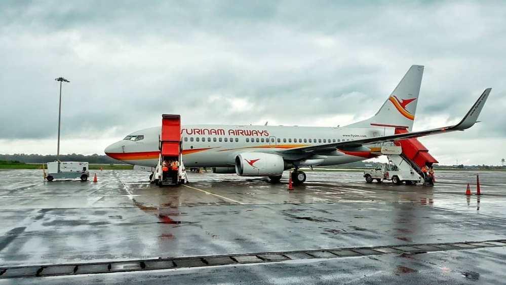 Resultado de imagen para Boeing 737-700 PZ-TCT SLM
