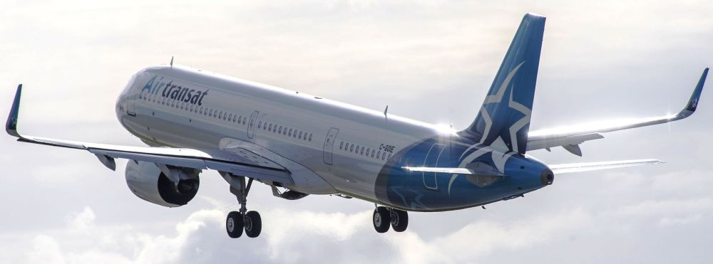 Resultado de imagen para Transatlantique Air Transat A321neo lr