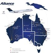 Resultado de imagen para alliance airlines qantas
