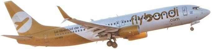 Resultado de imagen para Boeing 737-800 LV-HKN Flybondi