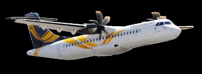 Resultado de imagen para ATR 72 Passaredo png