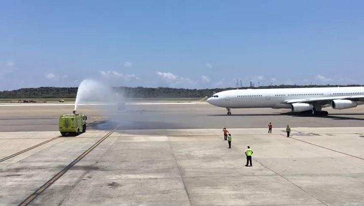 Image result for Estelar aerolineas A340-300 Lisboa