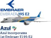 Resultado de imagen para embraer E195-E2 png Azul