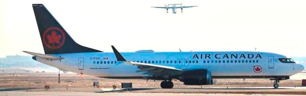 Exención vuelos 737 MAX de Air Canada |