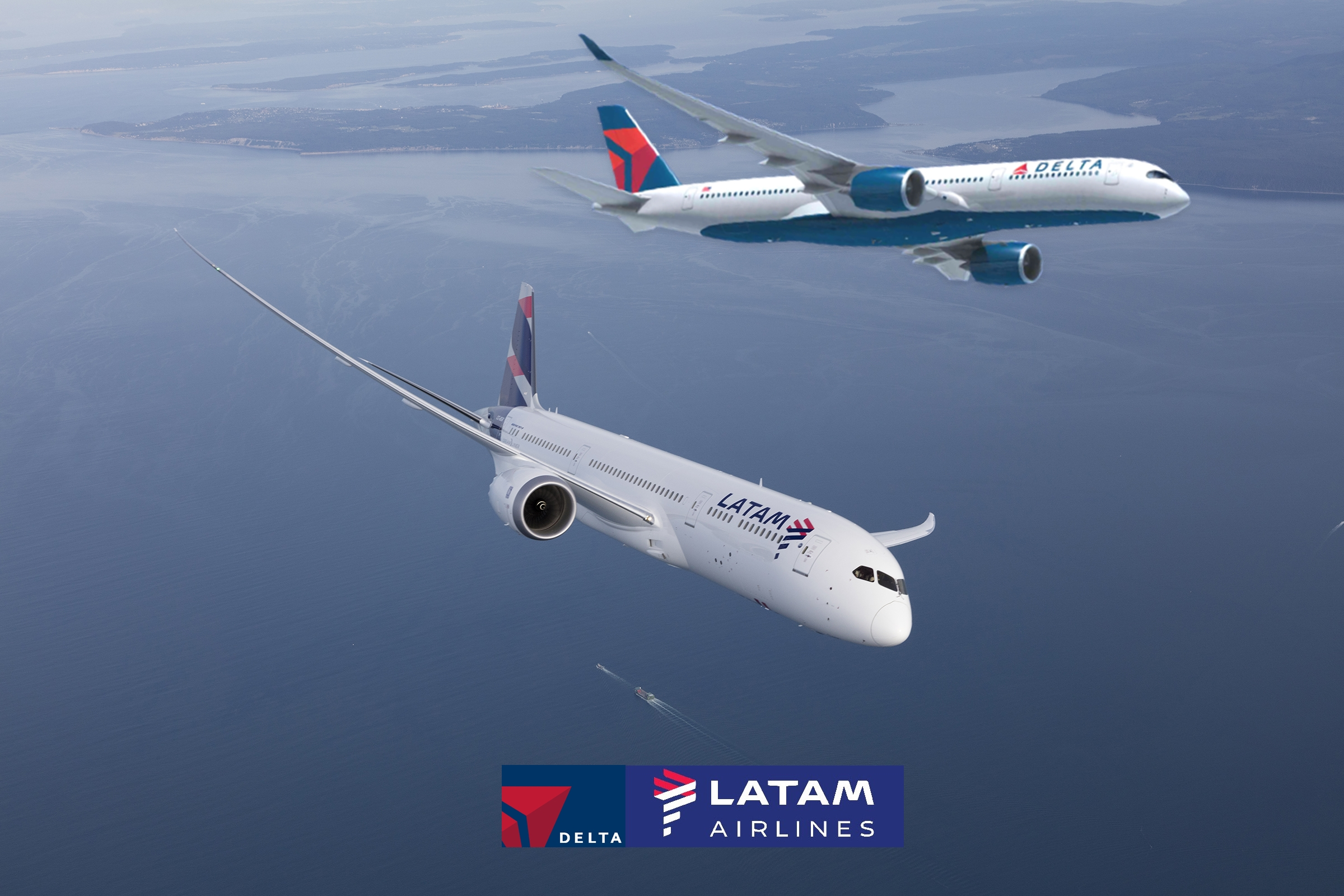 Delta adquisición 20% de Latam Group |