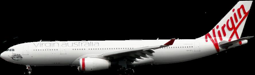 Resultado de imagen para virgin australia A330 png