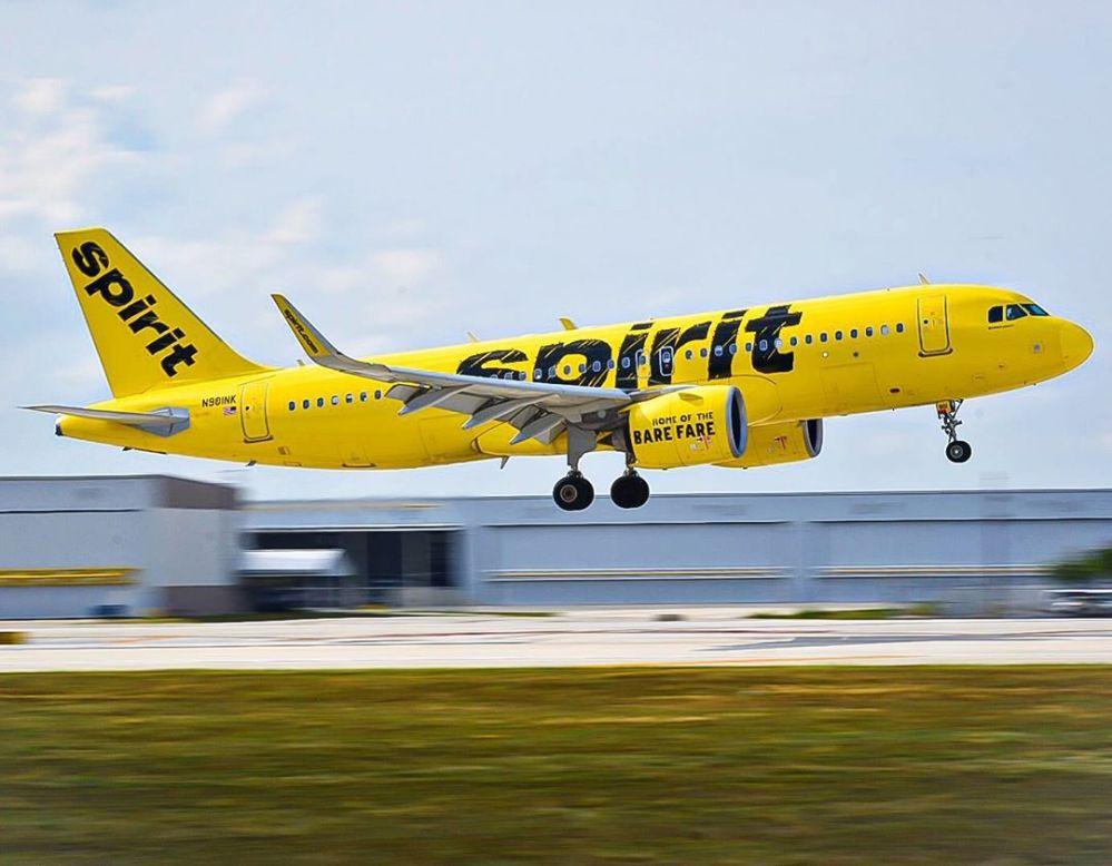 Resultado de imagen para spirit airlines 321xlr