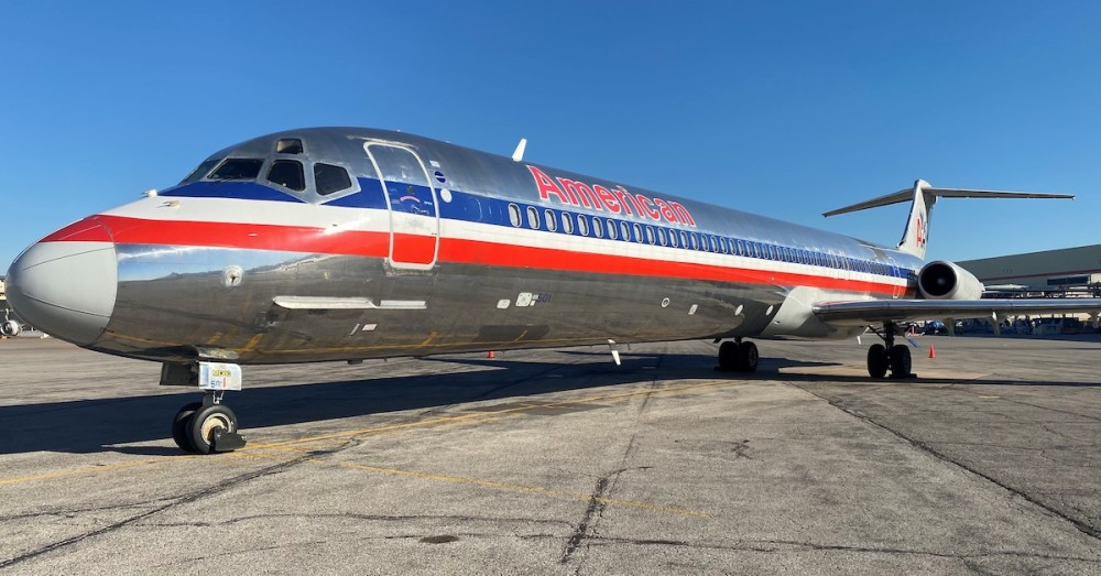 Image result for American donated last MD-80