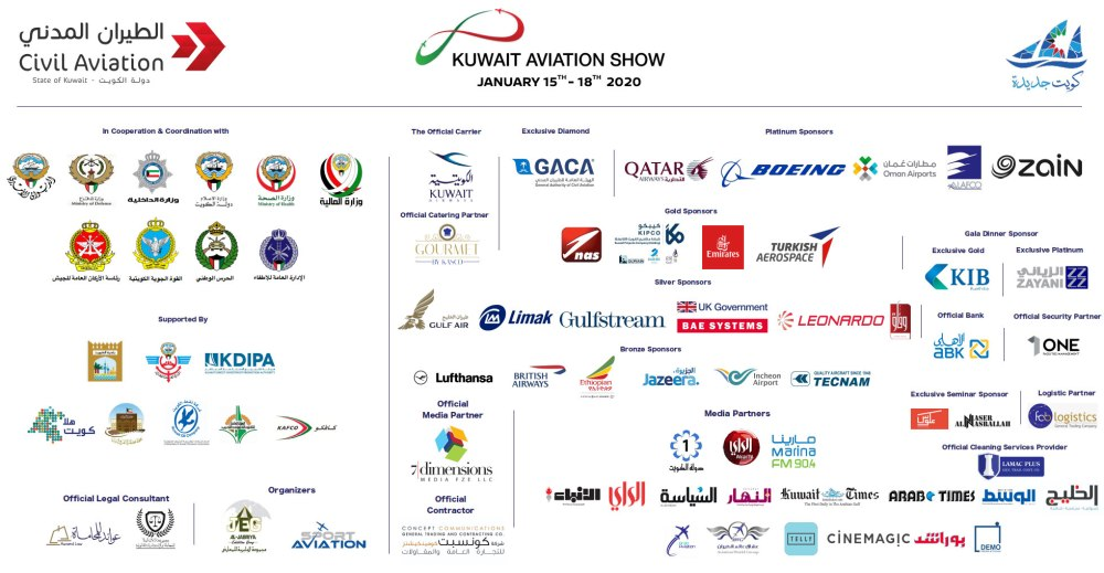 AW-Kuwait Aviation Show_2020_sponsors-logos