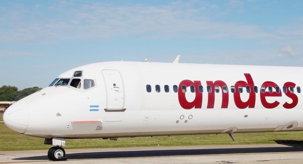 Resultado de imagen para Andes Líneas Aéreas MD-83