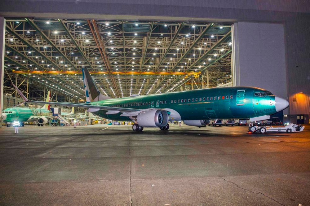 First 737 MAX Renton Factory Roll Out