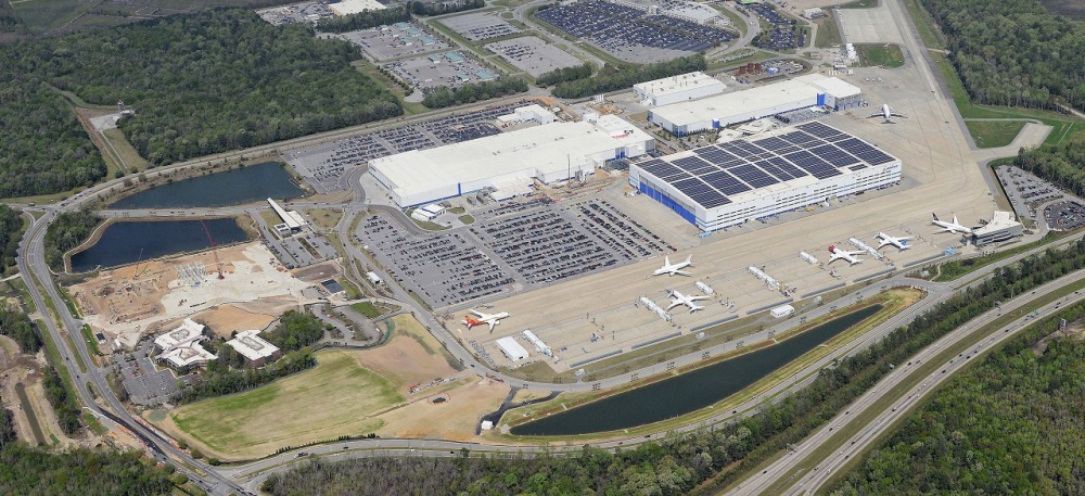 Boeing South Carolina 787 Factory