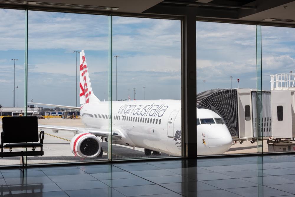 Virgin Australia passenger aircraft