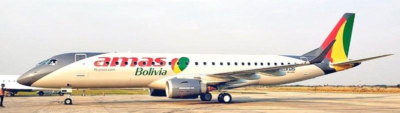 AW-Amaszonas Bolivia