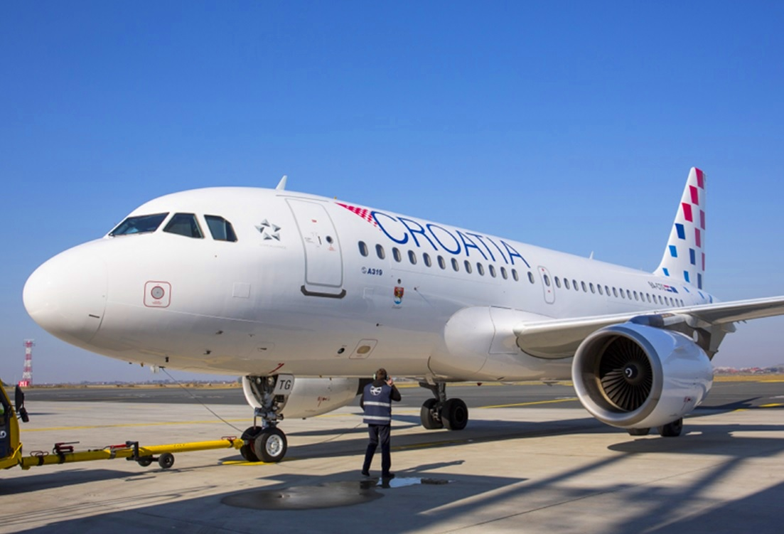 Croatia Airlines suspends coastal flights