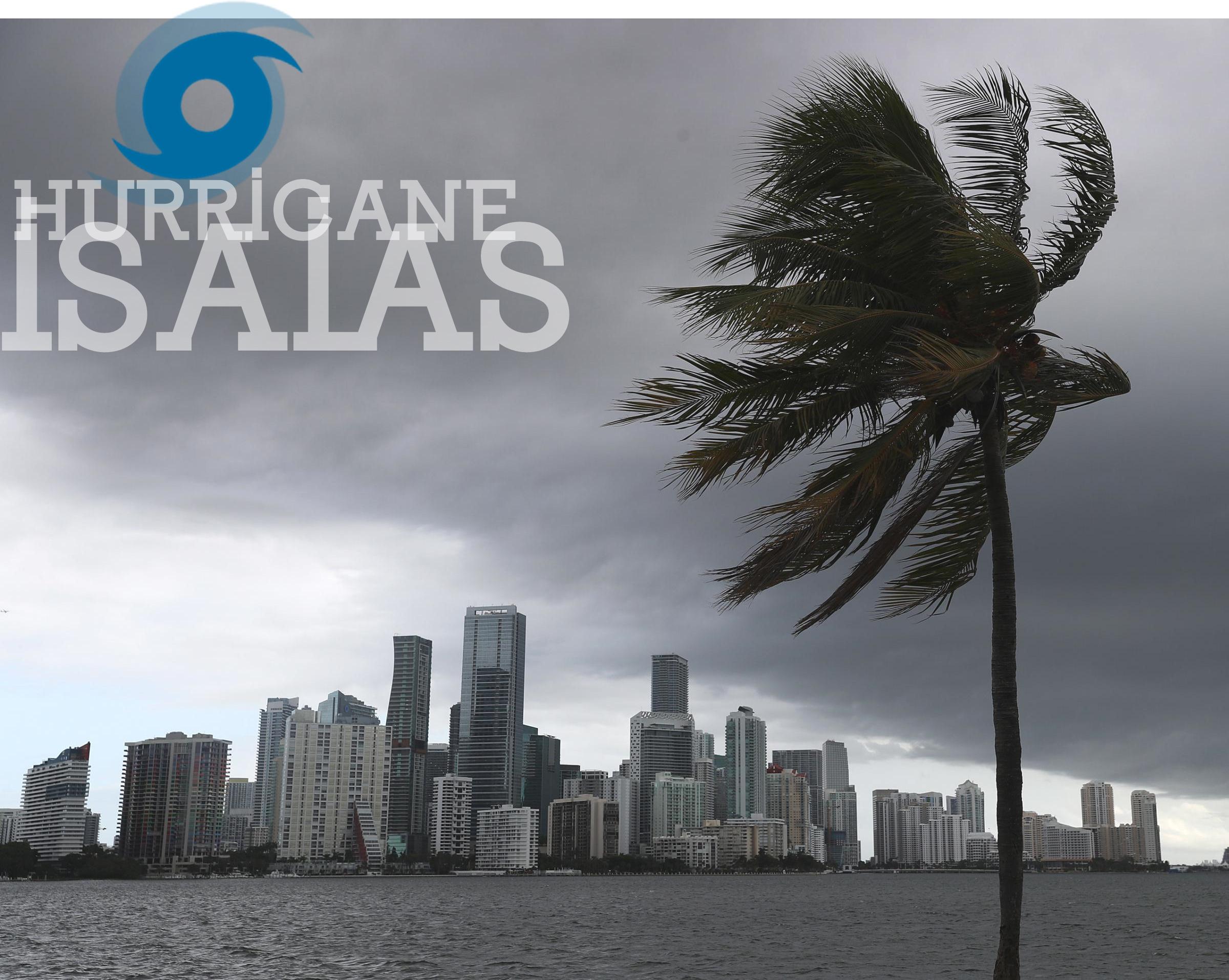 Huracán Isaias hacia Florida |