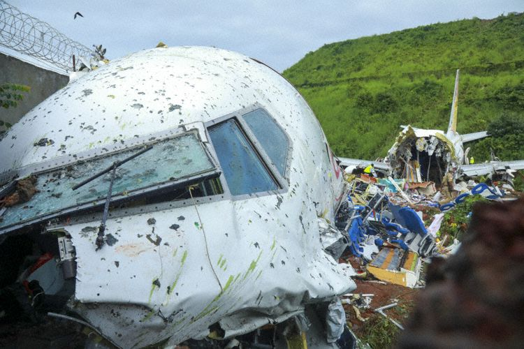 Descripción aérea del lugar del accidente (Foto: Skipper)