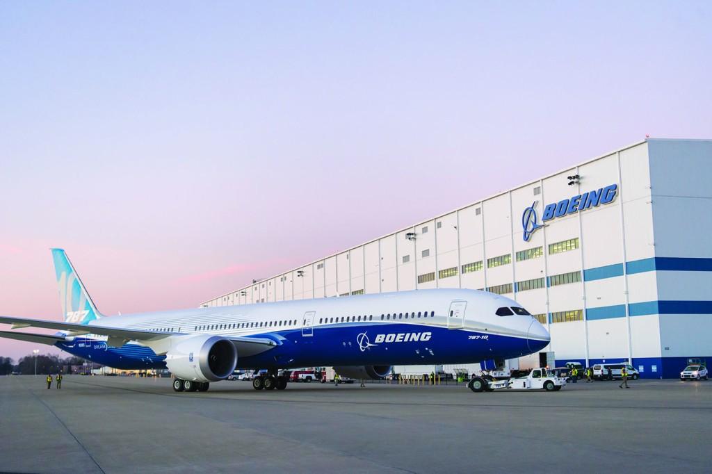 Boeing 787 a North Charleston |