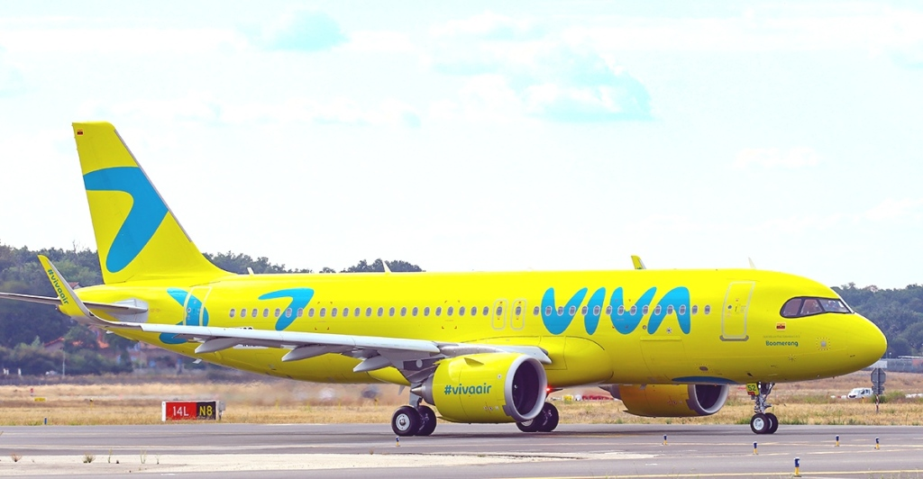 Viva Air incorpora A320NEO new livery |